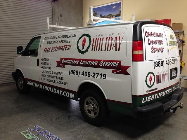 Van graphics Orange County