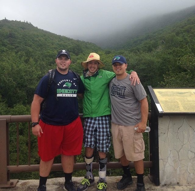 Ipswich's Skelton climbs Mount Washington for New England Disabled Sports