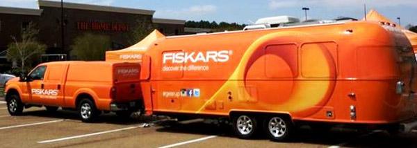 FISKARS Truck & Airstream