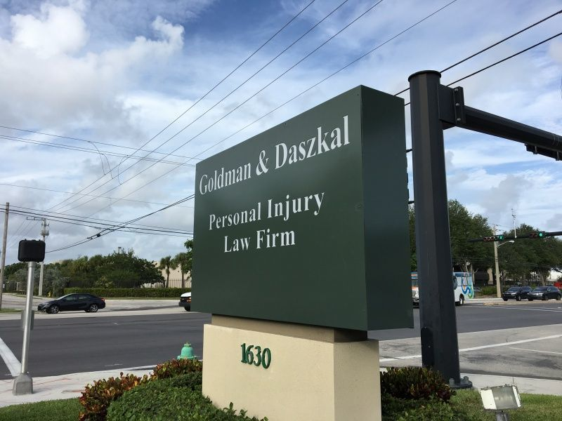 Monument Sign for Property Entrance - Sign Partners in Boca Raton - Florida Sign Company