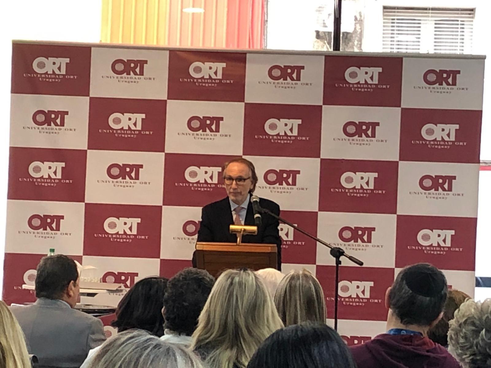Dr. Jorge Grunberg, Director of ORT University Uruguay