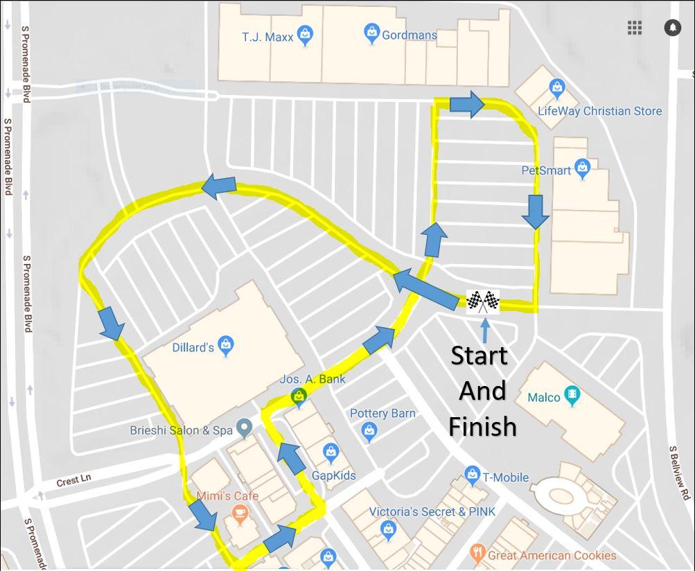 1 Mile CAREacter run-walk