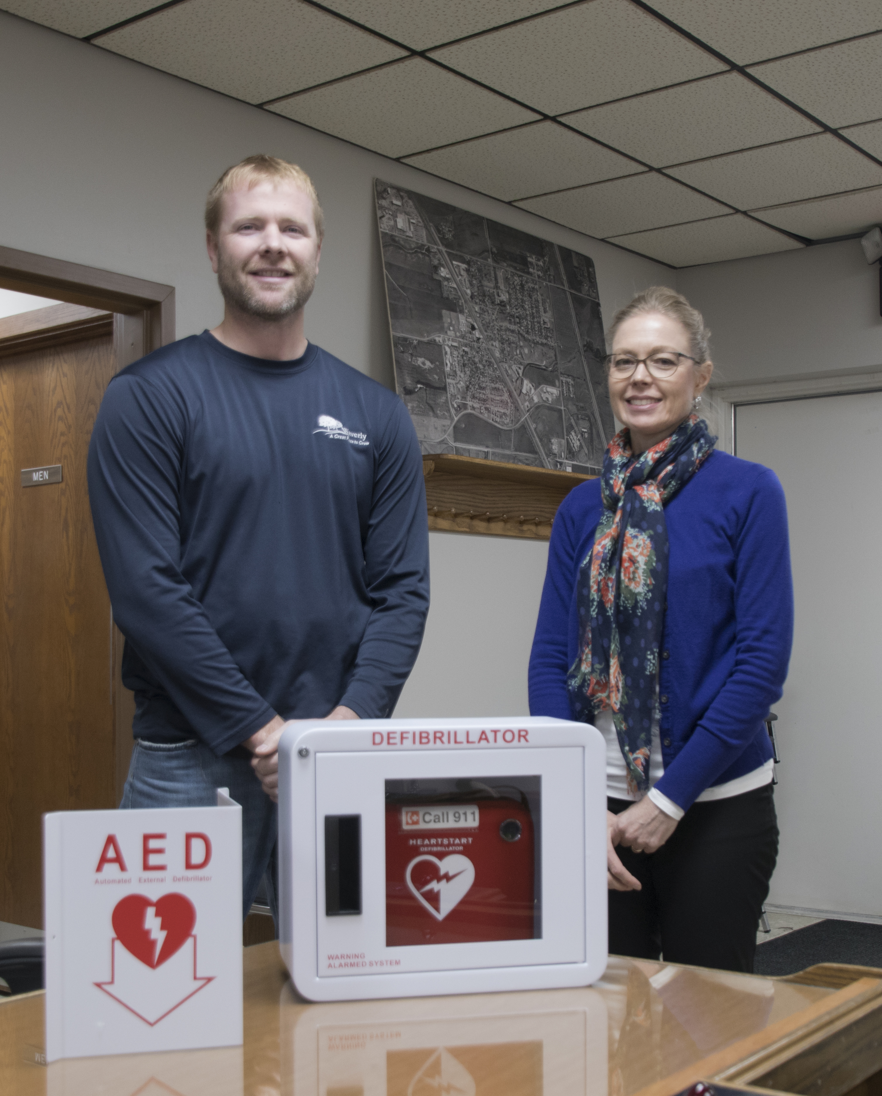 Waverly purchases AED