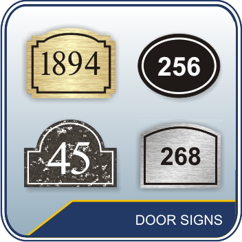 Number Door Signs