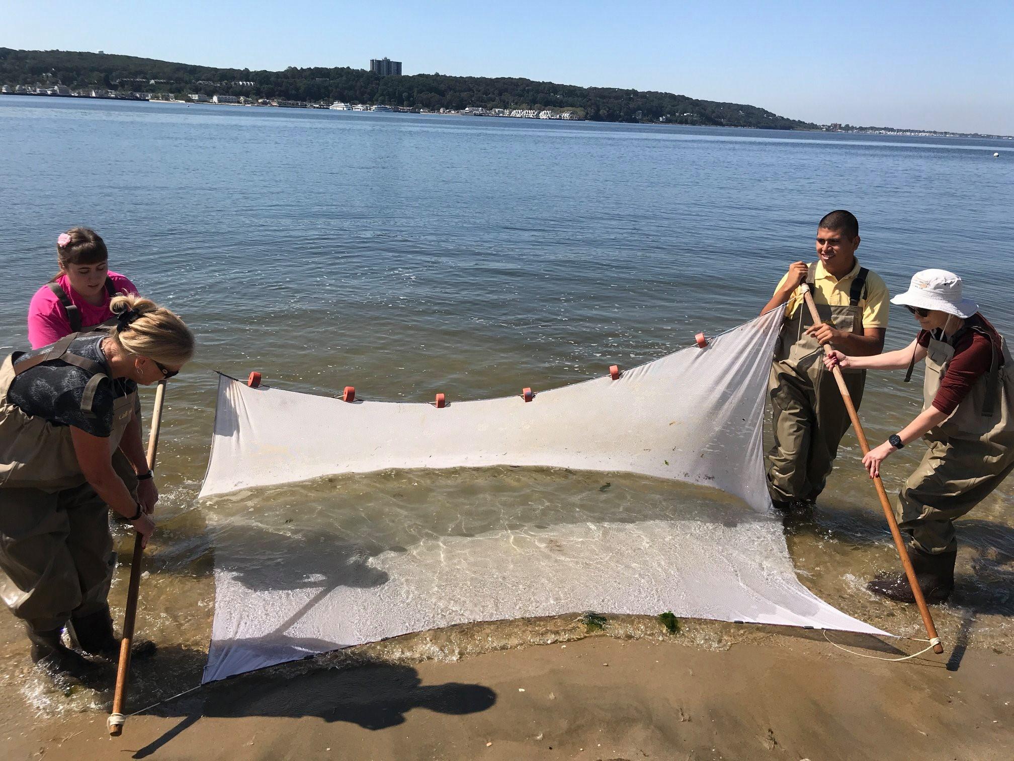 Native Ways Seining and Survival Skills