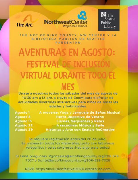 FESTIVAL DE INCLUSIÓN VIRTUAL; Historias y Arte