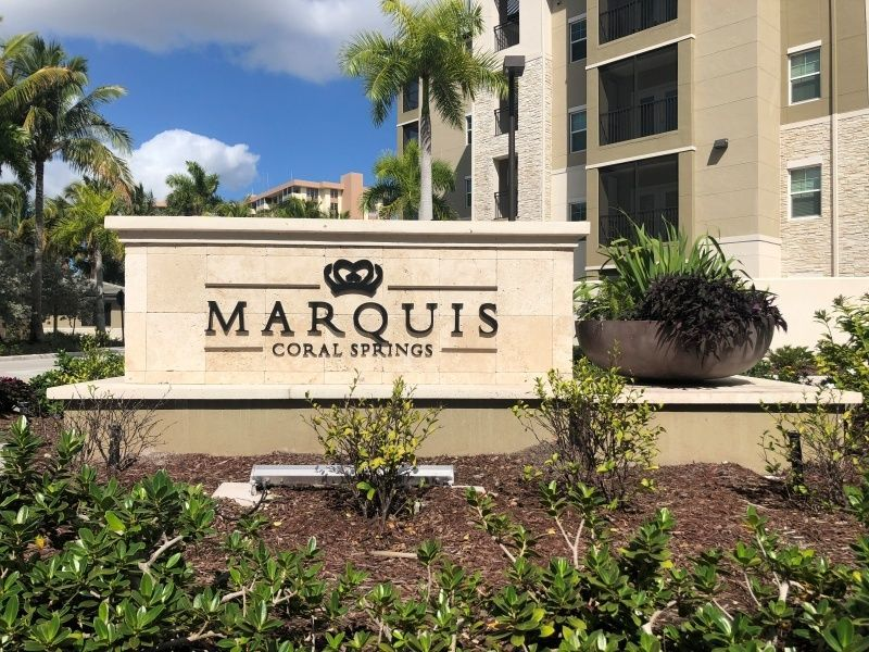 Indoor & Outdoor Signage for Multi-Family Developments - Monument Sign - Sign Partners, Melbourne, FL