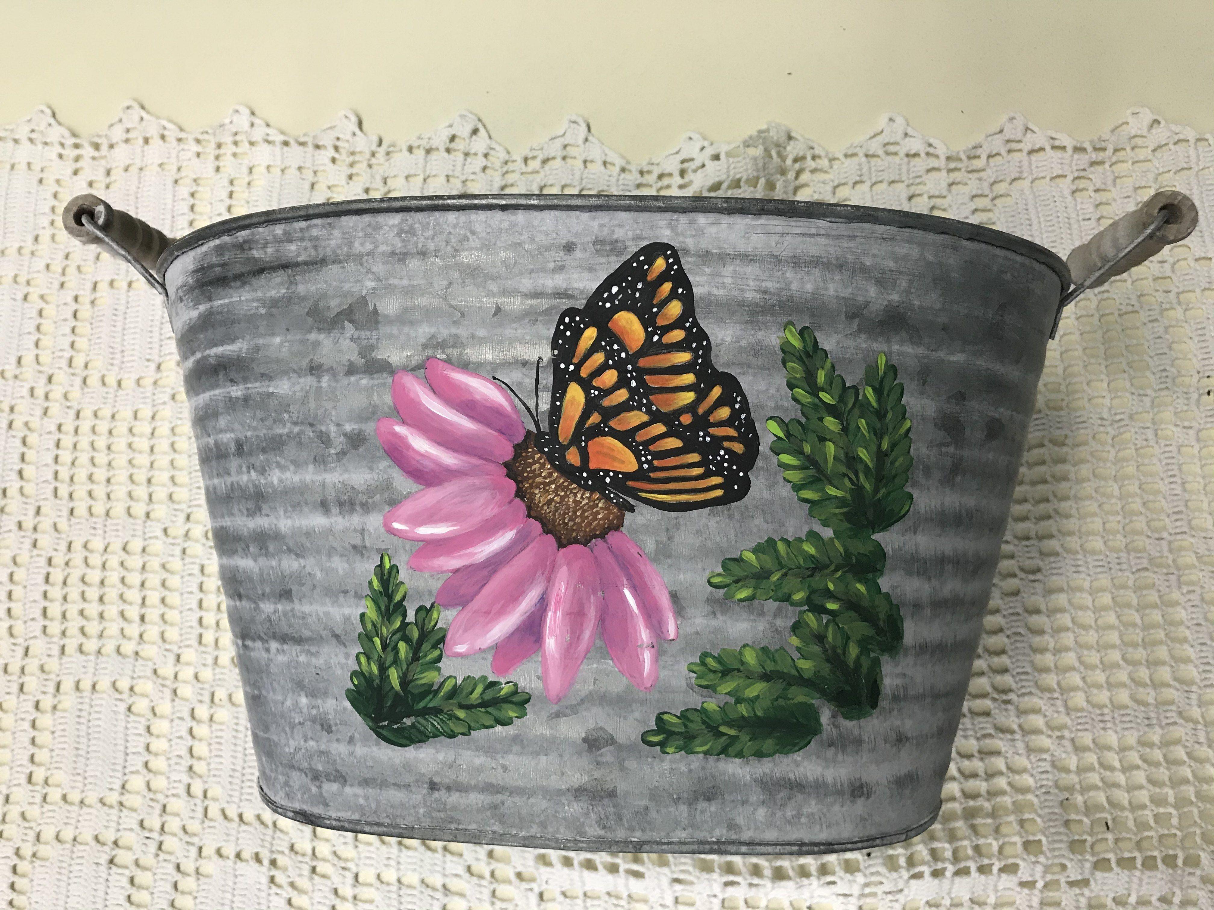 "Paint, Sip & Chill ""Spring Bucket"" Art Class with Beth Hopp"