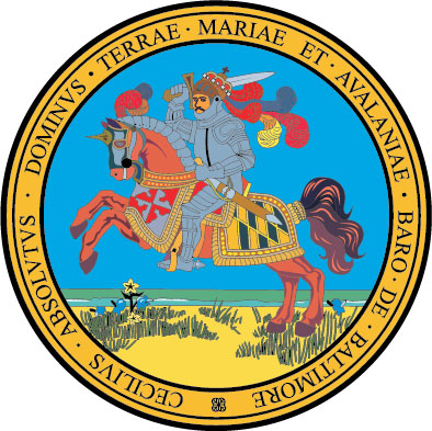W32252 - Great Seal of Maryland Wall Plaque (obverse side)