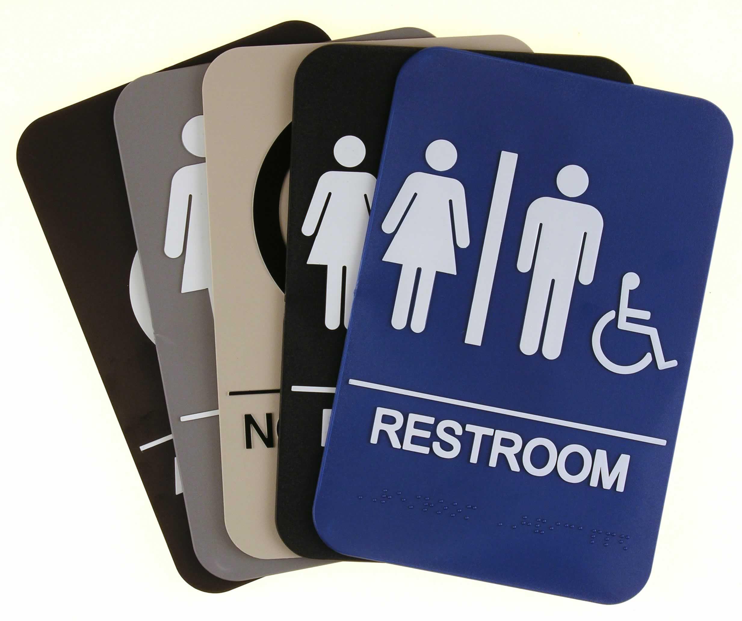 ADA Restroom signs 3