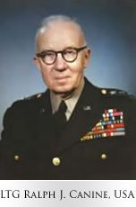 1951: MG Ralph J. Canine, USA, named Director, AFSA