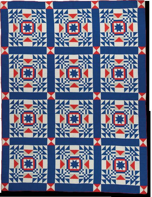 Nebraska, made by Louise Howey, made in Lincoln, Nebraska, United States, dated 1945, 95 x 72 in, IQSCM 2002.001.0001