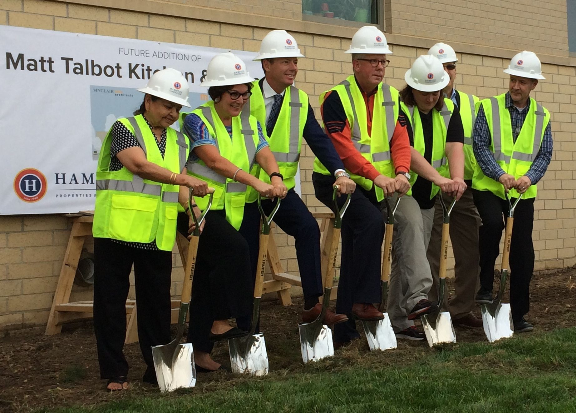 Groundbreaking Commemorates Building Expansion