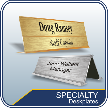Specialty Desk Name Plates