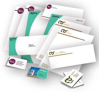 Stationery - Letterhead, Envelopes, With Comp Slips, Business Cards