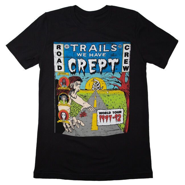 Trails We Have Crept Distressed T-Shirt (Month of Giving 2020)