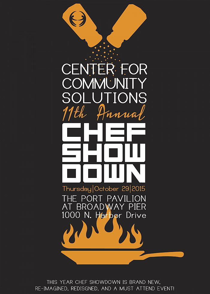 Chef Showdown 2015! New, Re-designed and Re-imagined. Join us on October 29!