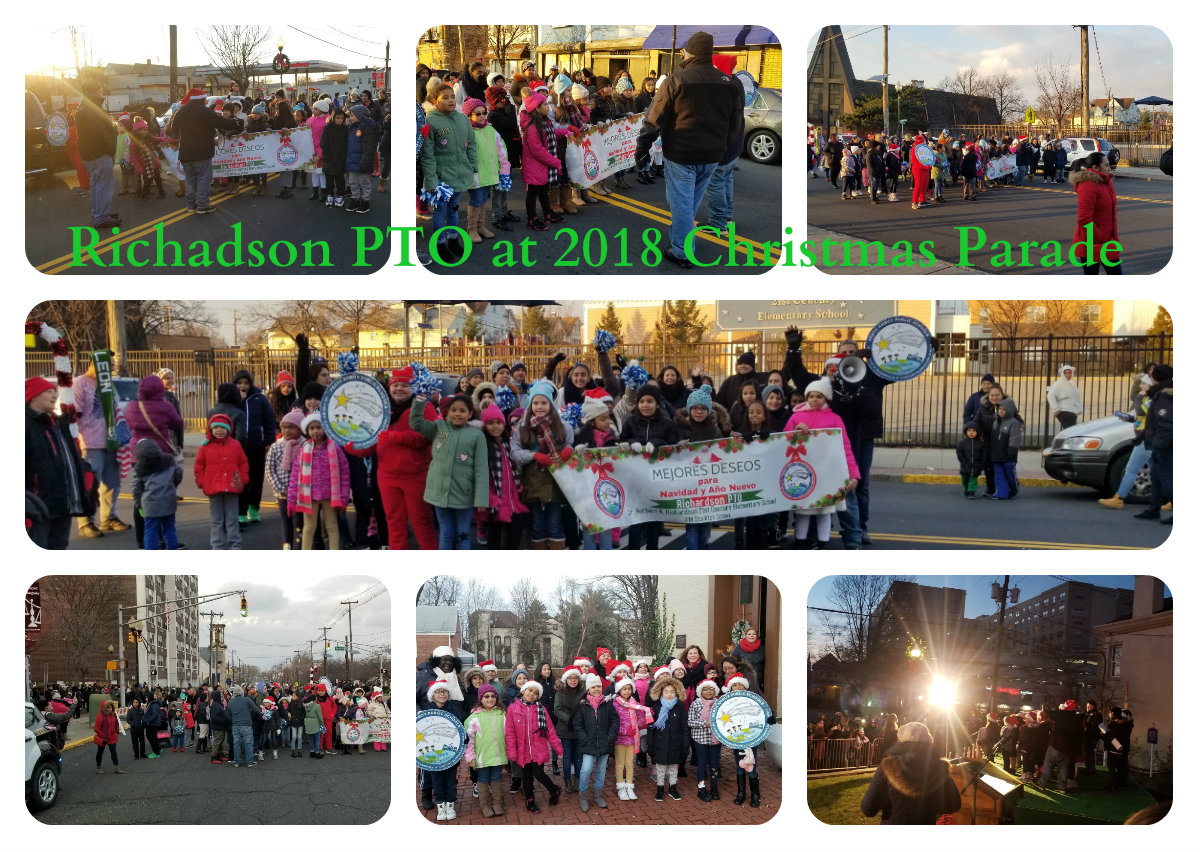Richardson PTO at Christmas Parade- December 2018