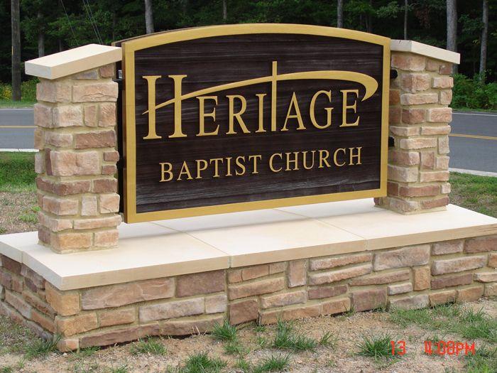 Heritage Entrance Sign