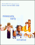 Minnesota Early Childhood Initiative: Lessons Learned