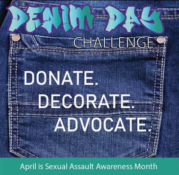 Jeans... Donate. Decorate. Advocate.