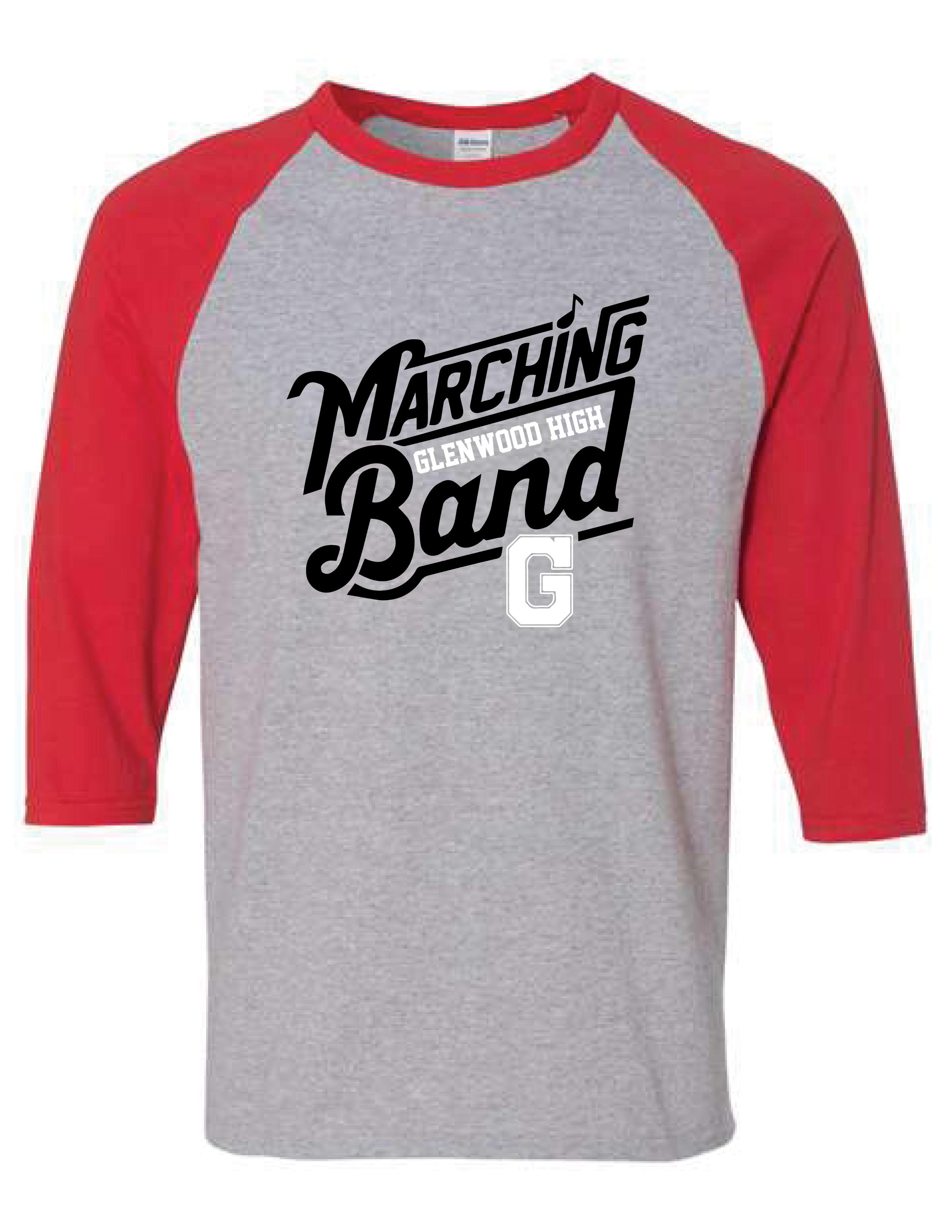 Glenwood Marching Band - Baseball Tee