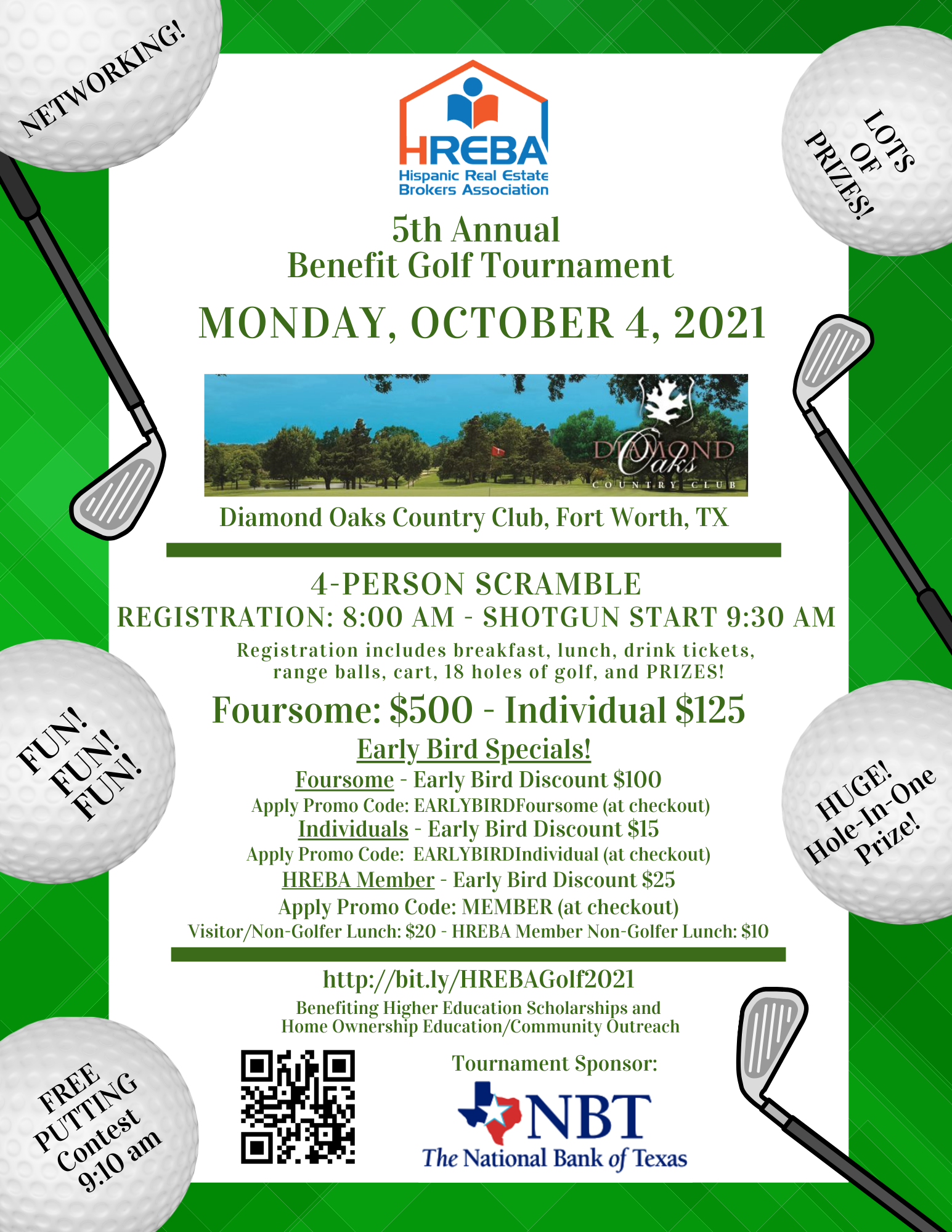 5th Annual Golf Tournament!