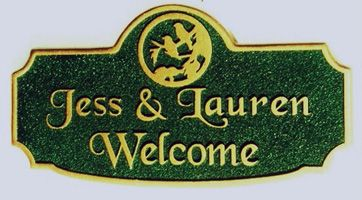 M1157 - House Address or Welcome Sign (Gallery 18)