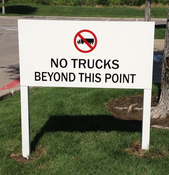 Custom Traffic Control Sign
