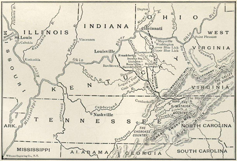 Following Daniel Boone's Footsteps