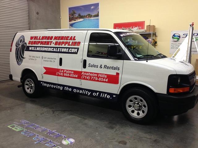Van Graphics for Fleets in Anaheim CA