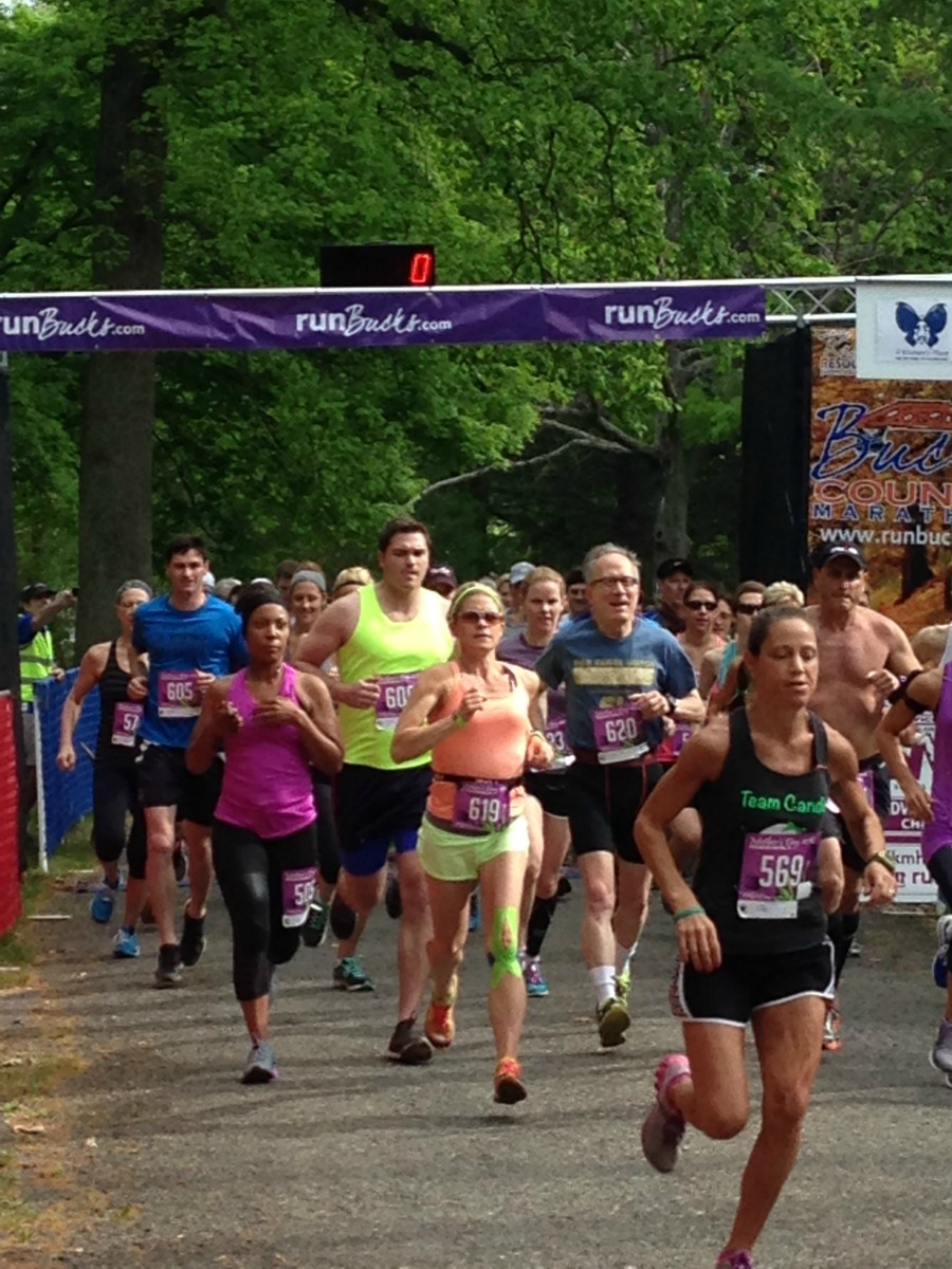 runBucks Mother's Day 10K to support A Woman's Place.