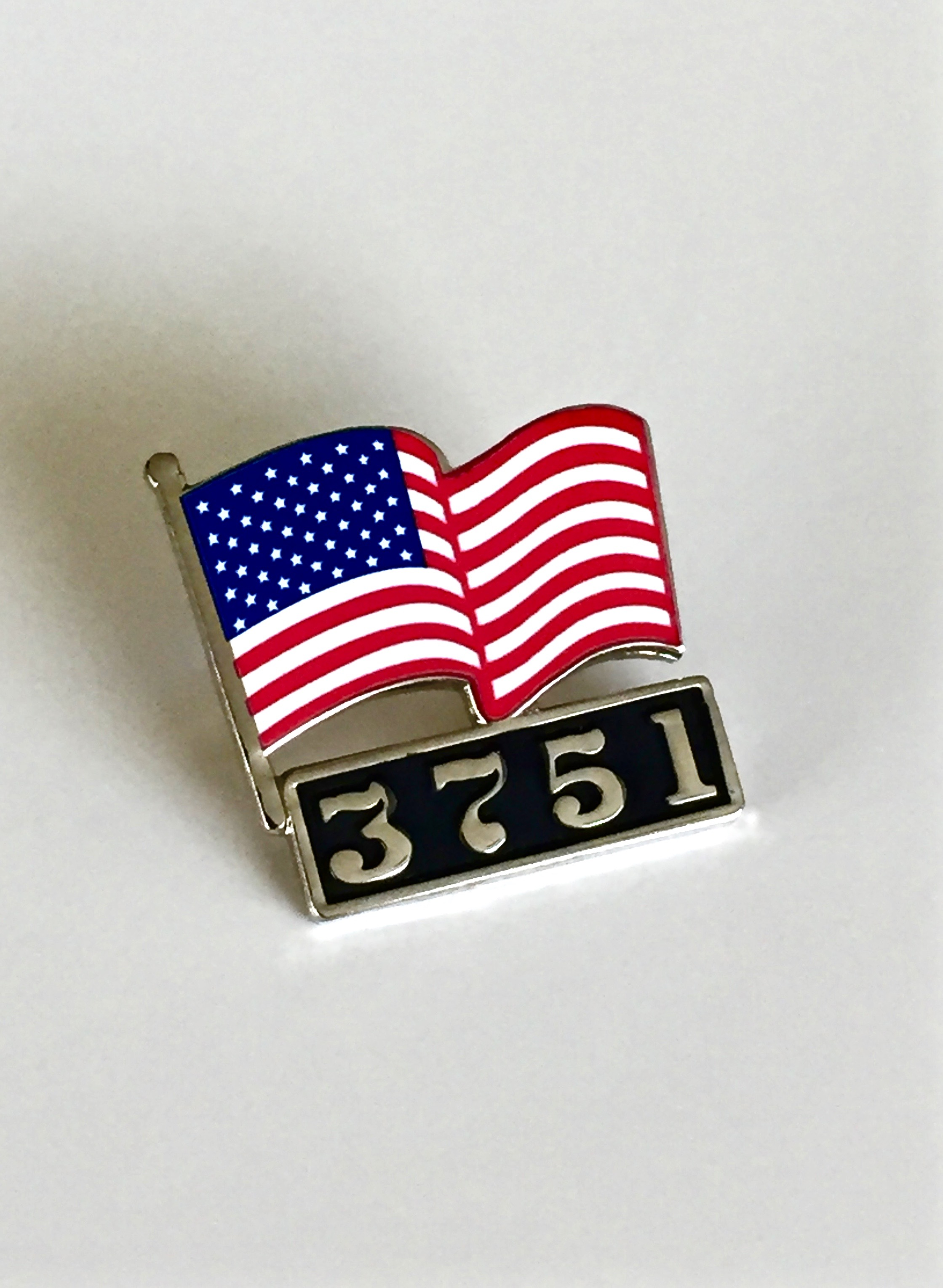 3751 - American Flag Lapel Pin