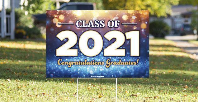 Graduation Lawn Signs