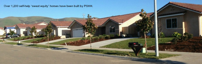 Over 1,200 self-help 'sweat equity' homes have been built by PSHH.