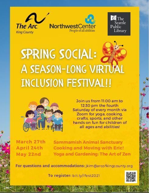 Spring Social: A Season-Long Virtual Inclusion Festival!