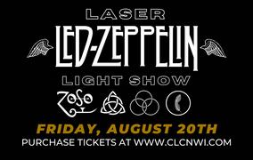 Laser Led Zeppelin Light Show, Fri. August 20th