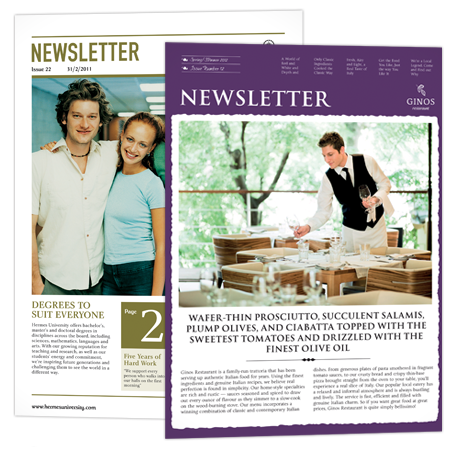 Newsletters & Manuals