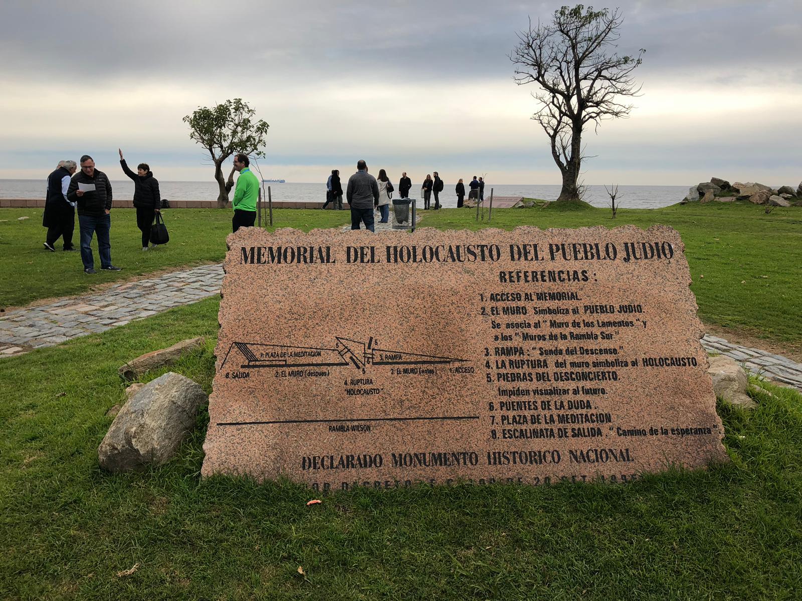 Holocaust Memorial References Stone