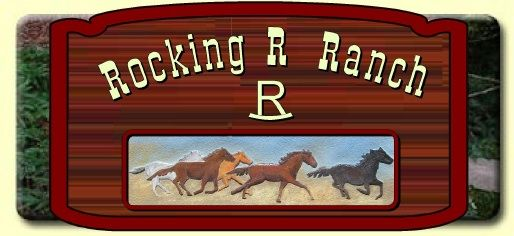 O24238 -  Design of Carved Wood Ranch Sign with Galloping Horses