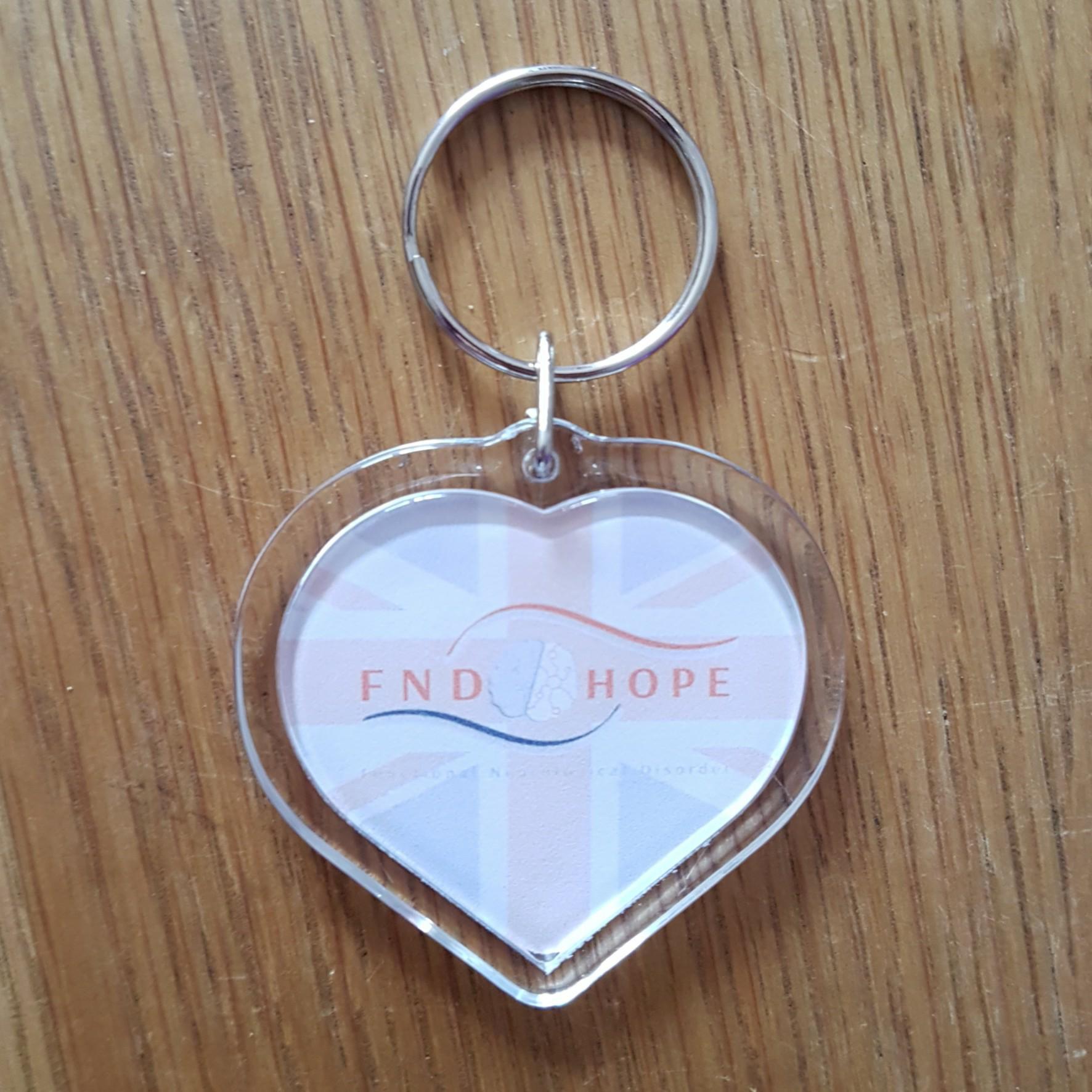 FND Hope UK Keyring