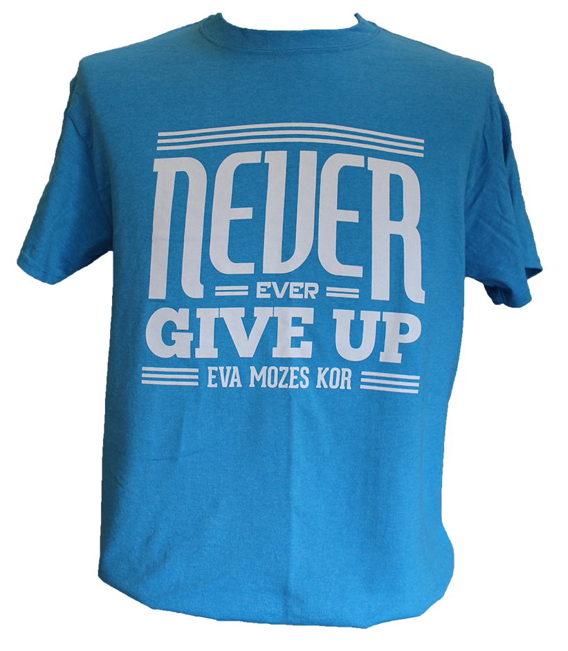 CANDLES Never Give Up Blue (USA Shipping)