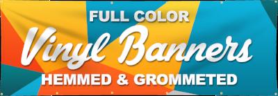 vinyl banners, full colour vinyl banners, custom vinyl banner, vinyl banner printing, outdoor banners