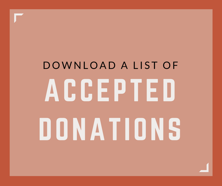 List of Accepted Donations