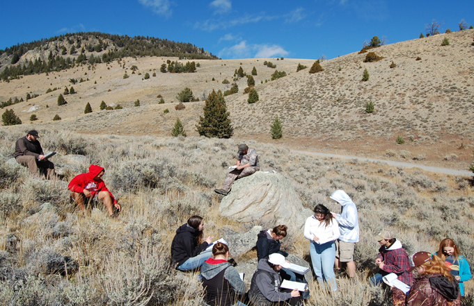Geology Class Explores Innovative Approaches to Sustainability
