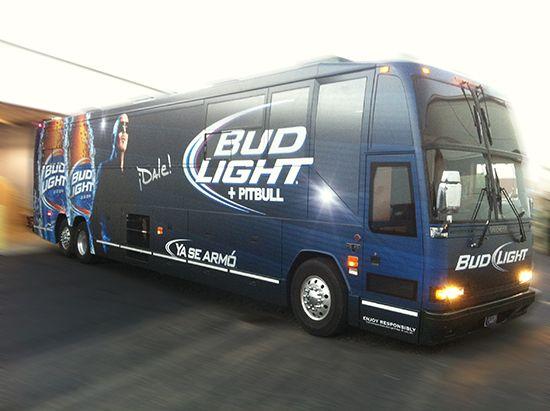 Bud Light Bus