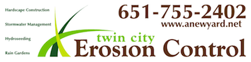 Twin Cities Erosion Control Banner