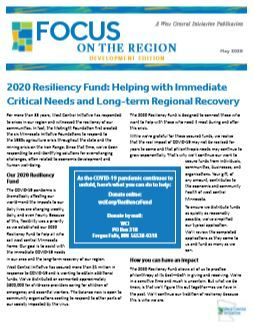 May 2020 Focus on the Region