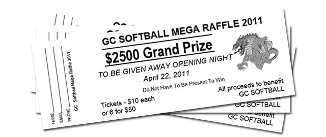 Raffle   Tickets   Sports   Events   Political   Union