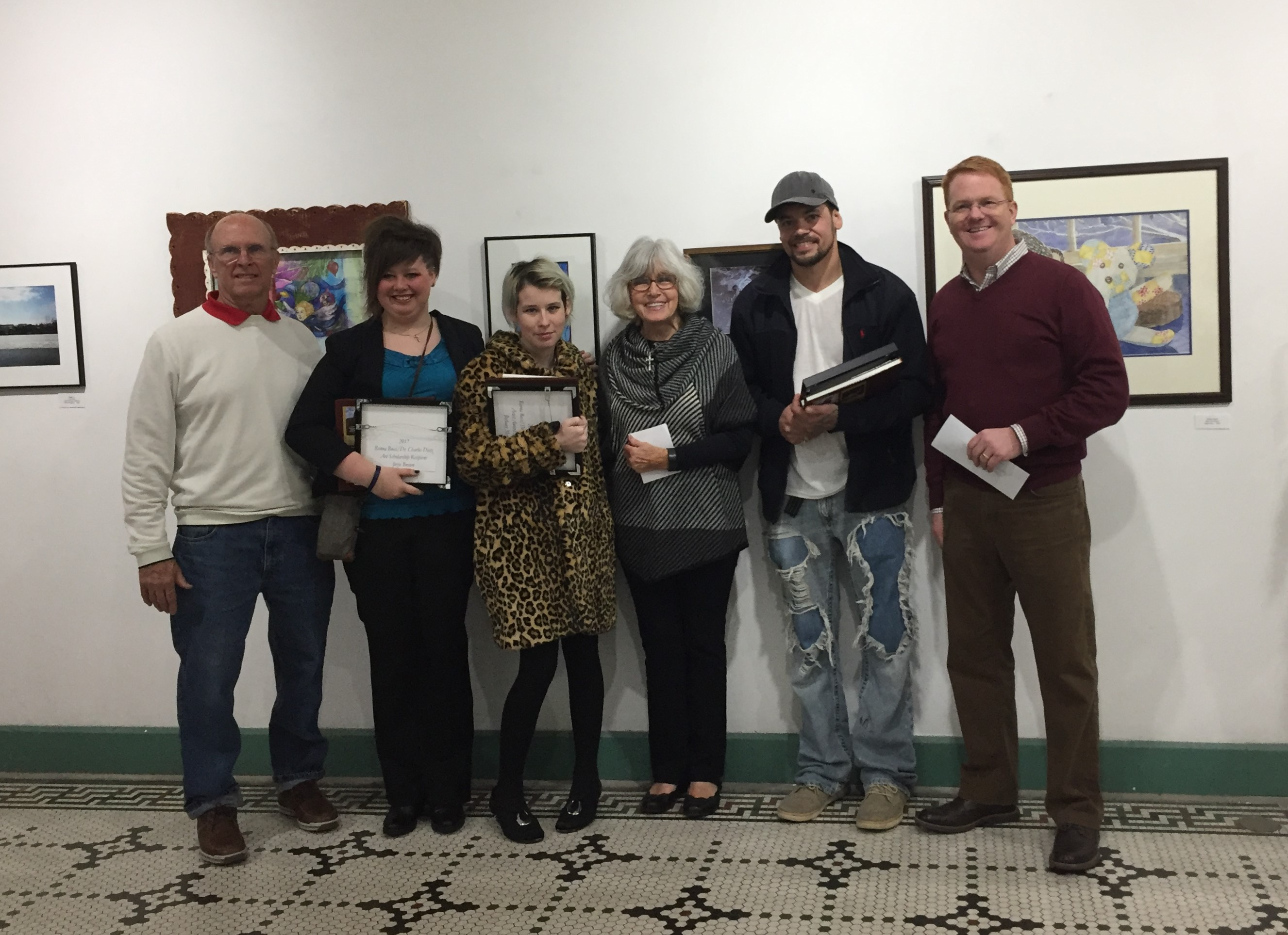 Congratulations to the Bucci Dietz Artist Award Winners!